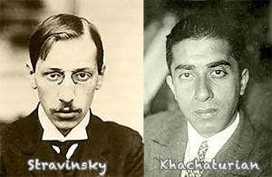 Stravinskykhachaturian